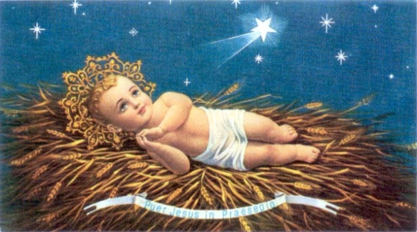 Jesus as a baby