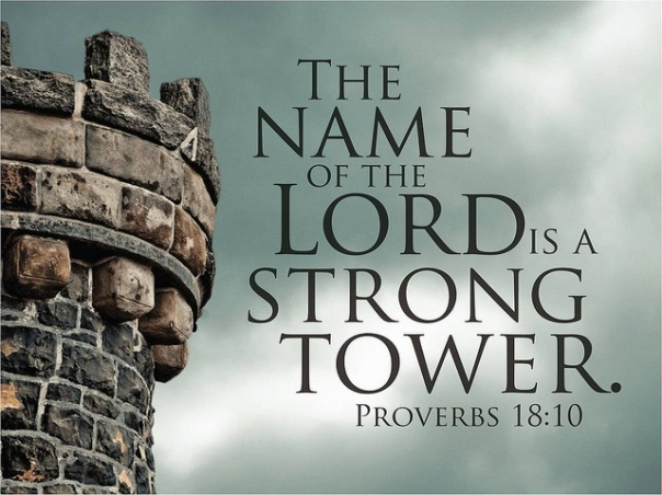 The name of the LORD is a strong tower: the righteous runs into it, and is safe.