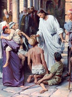 Jesus heal