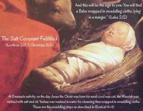 Swaddling Cloths Salt Covenant