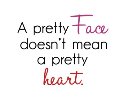 face and heart