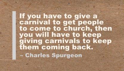 Spurgeon carnival warning
