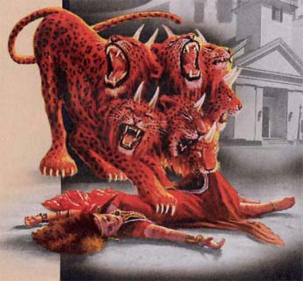 the beast destroys Babylon