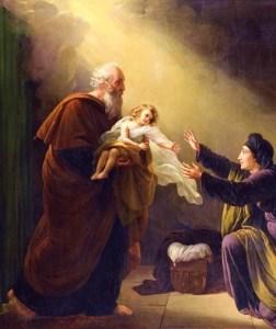 Elijah raises the widow's son