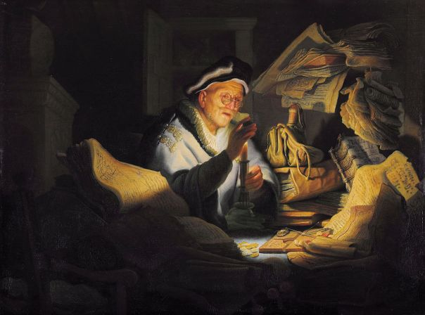 """""""Rembrandt - The Parable of the Rich Fool"""" by Rembrandt - www.uni-leipzig.de : Home : Info : Pic. Licensed under Public Domain via Wikimedia Commons - http://commons.wikimedia.org/wiki/File:Rembrandt_-_The_Parable_of_the_Rich_Fool.jpg#/media/File:Rembrandt_-_The_Parable_of_the_Rich_Fool.jpg"""