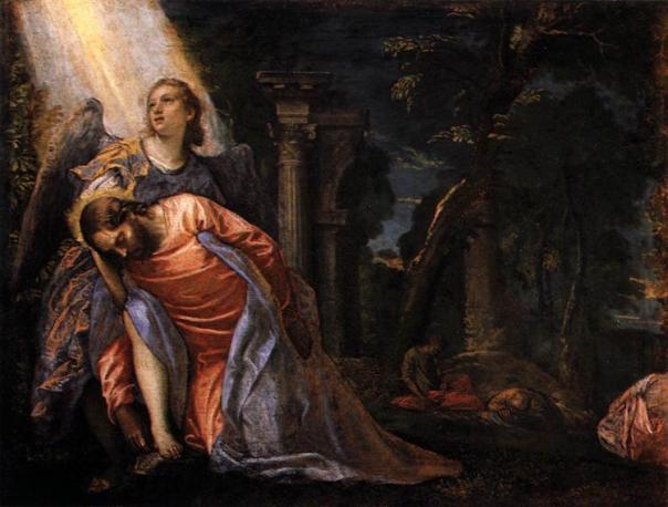 Paolo Veronese Christ in the garden of Gethsemane