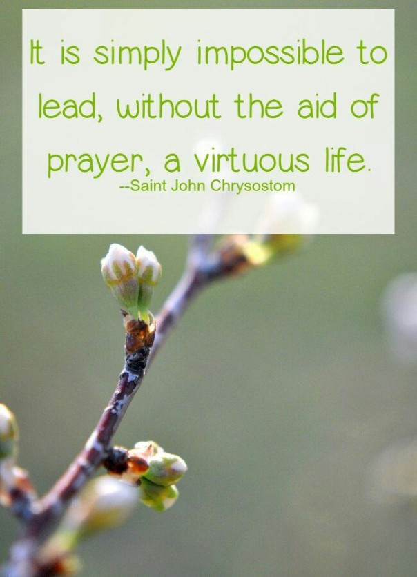 virtue and prayer