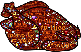 For Get the Turkey ~ CHRIStian poetry by deborah ann