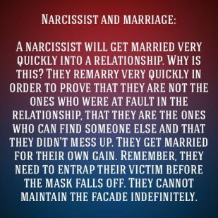 narc marriage