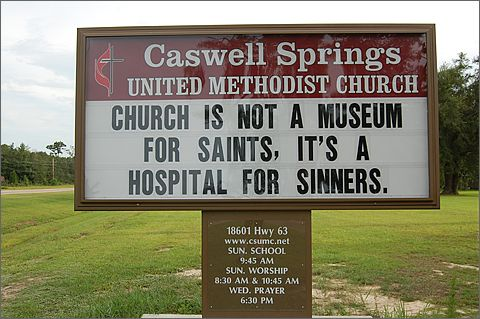 church signs f